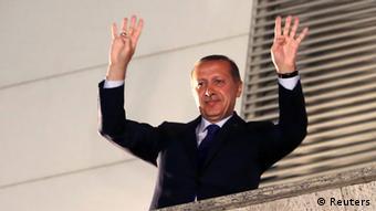 Kommunalwahlen Türkei Erdogan 31.03.2014 in Ankara