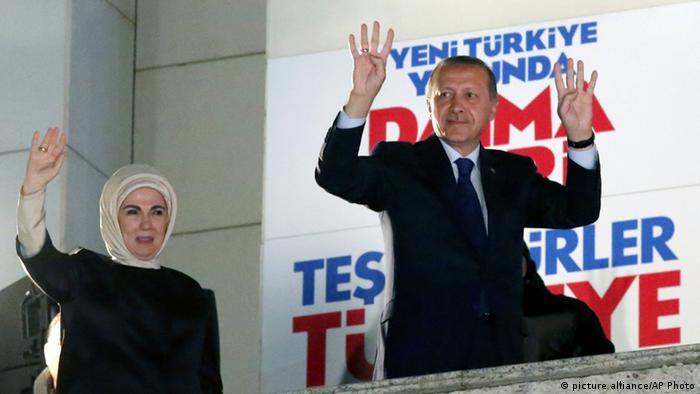 Erdogan victorios