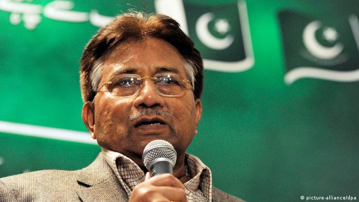 Pakistan Pervez Musharraf Prozess ARCHIVBILD (picture-alliance/dpa)