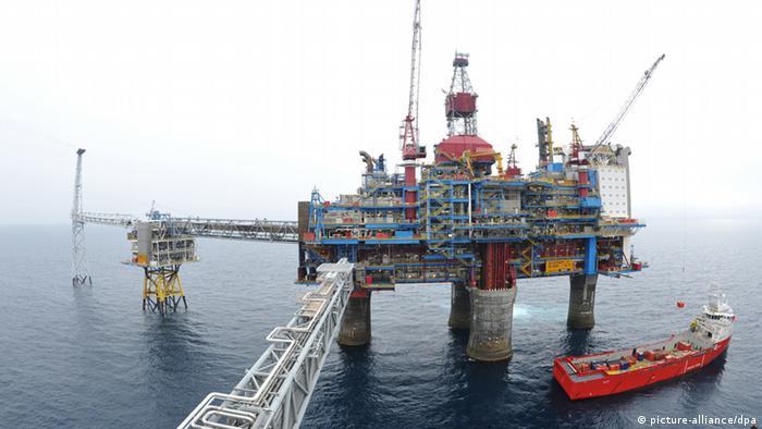 Norveška plinska platforma