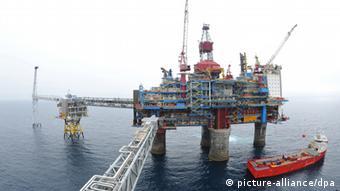 Газовая платформа Statoil