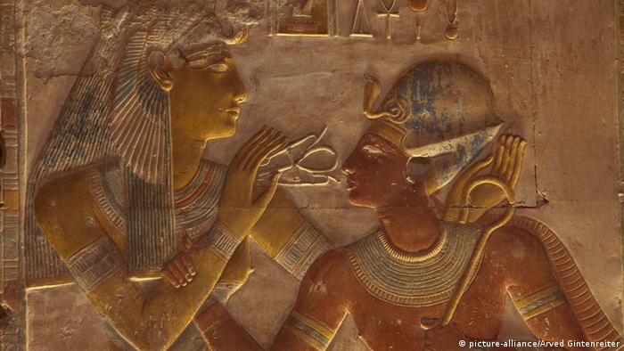 Seti-Tempel in Abydos (picture-alliance/Arved Gintenreiter)