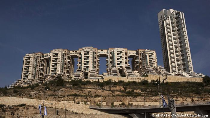 View of the Holyland luxury apartment complex in Jerusalem on April 21, 2010 (Photo: MENAHEM KAHANA/AFP/Getty Images)