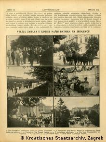 Isječak iz Ilustrovanog lista, 1916. godine