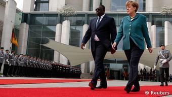 Staatsbesuch Senegals Präsident Macky Sall in Berlin