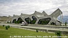 J. Mayer H. Architects: Rest Stops Gori und Lochini, Gori und Lochini\Georgien