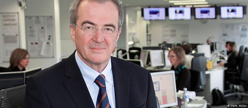 Alexander Kudascheff é o editor-chefe da DW