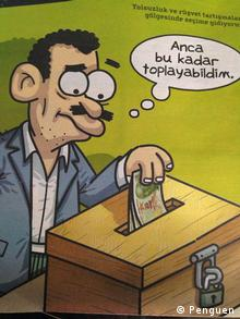 Penguen Comics Satire Türkei
