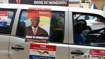 Wahlkampagne von Kandidat Abel Incada