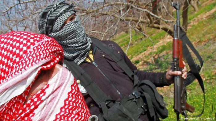 Symbolbild Terror Terroristen Dschihadisten Islamisten Syrische Rebellen