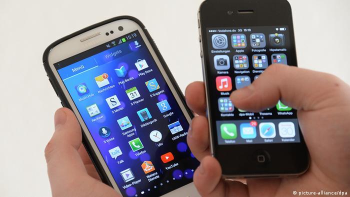 USA Patentstreit zwischen Apple und Samsung