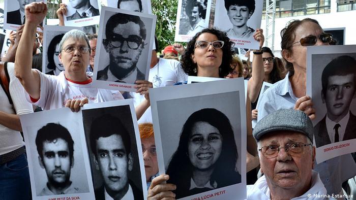 Arquivo: ato em memória de vítimas da ditadura militar