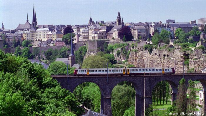 Stadt Luxemburg Stadtansicht
