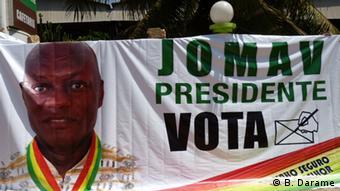 Wahlkampagne von Jose Mario Vaz