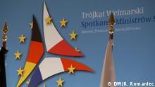Weimarer Dreieck Treffen in Weimar. Datum: 1.4.2014 Ort: Weimar Thema: Weimarer Dreieck Treffen Foto: Rosalia Romaniec