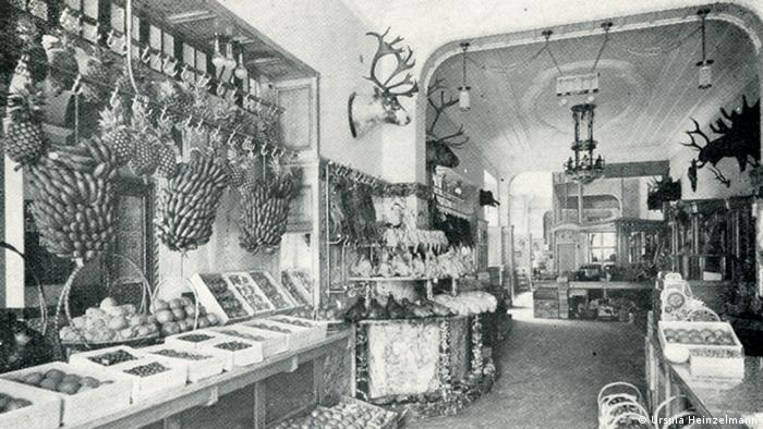 The Fehér delicatessen store in Berlin, c. 1910., Courtesy: Ursula Heinzelmann