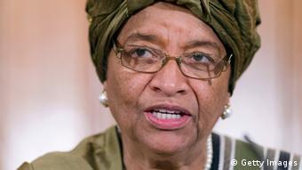 Ellen Johnson Sirleaf, jefa del Gobierno de Liberia.