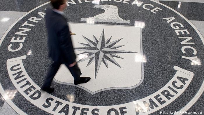 CIA Logo Fußboden (Saul Loeb/AFP/Getty Images)