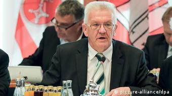 Baden-Württemberg's Premier Winfried Kretschmann
