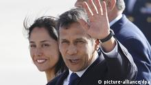 Nadine Heredia und Ollanta Humala