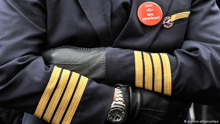 Lufthansin pilot u štrajku