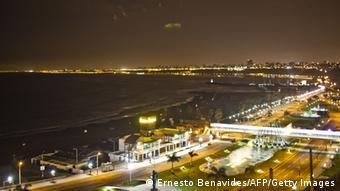 منطقهای ساحلی در پرو؛ در هنگام زلزله خطر سونامی مناطق ساحلی را تهدید میکند