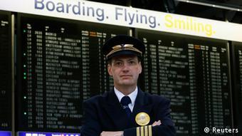 Jörg Handwerg von der Pilotenvereinigung Cockpit (Foto: Reuters)