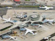 El Aeropuerto Internacional de Fráncfort es el más importante de Alemania.