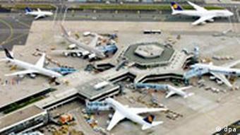 Frankfurter Flughafen, Luftaufnahme