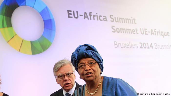 EU Afrika Gipfel mit Ellen Johnson Sirleaf (Foto: picture alliance/AP Photo)