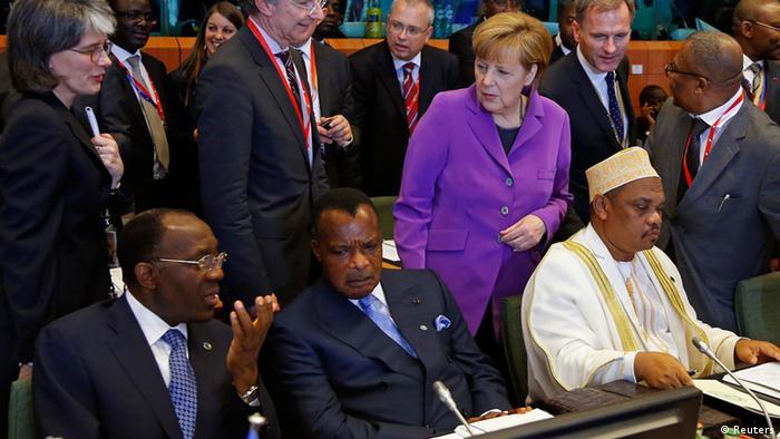 EU Afrika Gipfel Merkel 02.04.2014 Brüssel