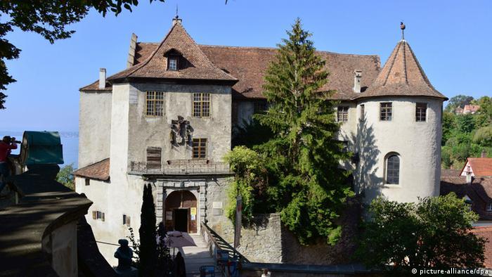 Старый замок в Меерсбурге