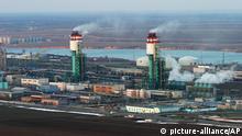 Industrieanlage in Odessa, Ukraine