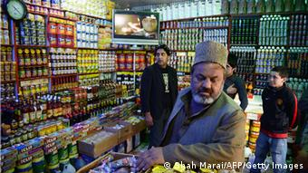 Basar in Kabul mit US-Produkten (Foto: AFP/Getty Images)