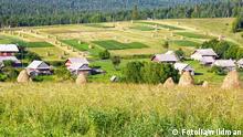 Landwirtschaft in den Karpaten, Ukraine