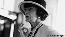 Coco Chanel im Atelier, 1962