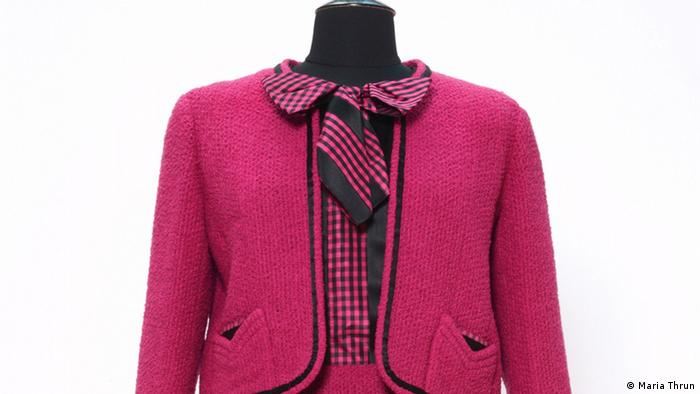 Pink costume designed 1959/60 by Chanel