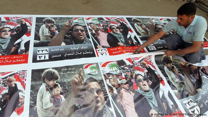 Bildergalerie Irak Wahlkampagne