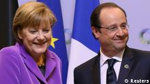 Angela Merkel und Francois Hollande beim EU Afrika Gipfel in Brüssel