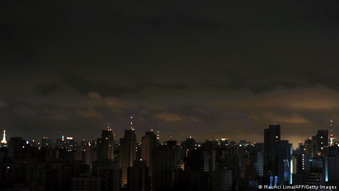 Stromausfall Brasilien Sao Paulo 2009 (Maurici Lima/AFP/Getty Images)