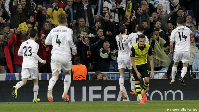 UEFA Champions League Real Madrid Borussia Dortmund