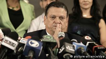 Wahlkampf in Costa Rica Johnny Araya (Foto: Epa)