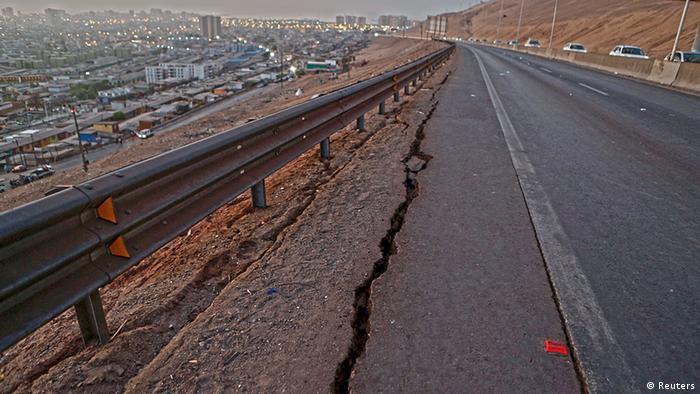 Chile y los terremotos | América Latina | DW | 03.04.2014
