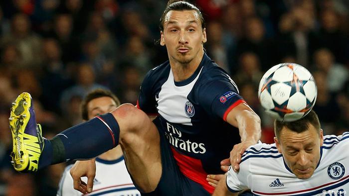 Paris Saint-Germain vs Chelsea 02.04.2014 Paris