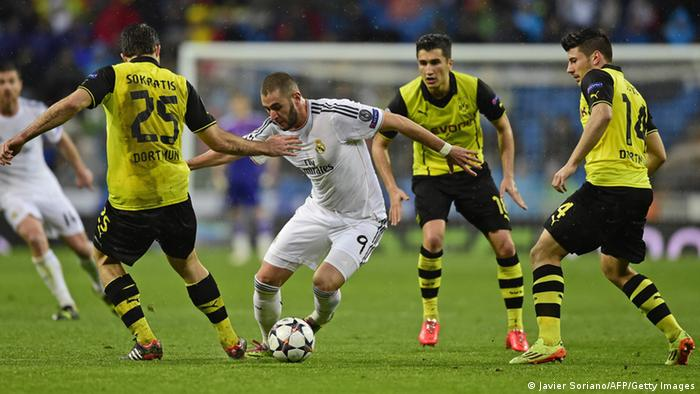 Real Madrid vs Borussia Dortmund 02.04.2014 Madrid