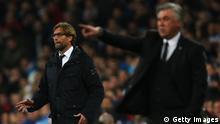 Champions League Real Madrid vs Borussia Dortmund Jürgen Klopp