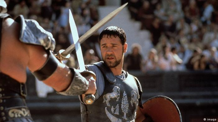 Russell Crowe in Gladiator (imago)