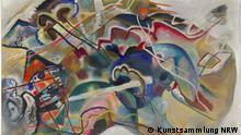 Wassily Kandinsky Bild mit weißem Rand AUSSCHNITT