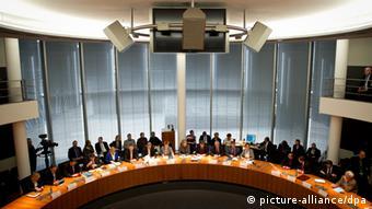 Учредительное заседание следственной комиссии бундестага