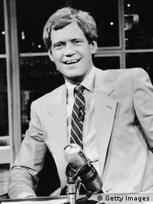 Moderator David Letterman um 1986 (Getty Images)